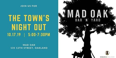 The Town's Night Out tickets