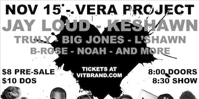 Jay Loud + Keshawn & more @ The Vera Project