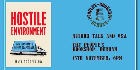 Maya Goodfellow: Hostile Environment, Author Talk and Q&A tickets
