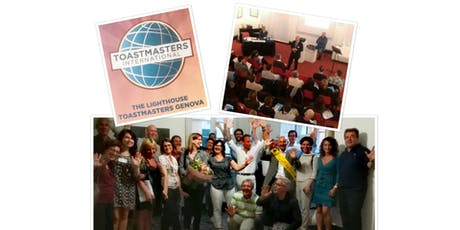 Public speaking night&Club birthday - THE LIGHTHOUSE TOASTMASTERS GENOVA biglietti