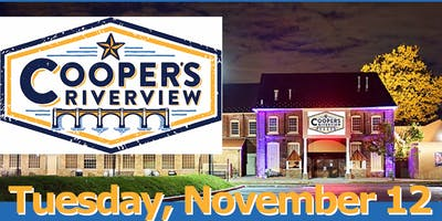 Cooper's Riverview ~ Singles Fall Mix & Mingle, Featuring Live Entertainment and Networking Icebreaker, 191112 Lmod