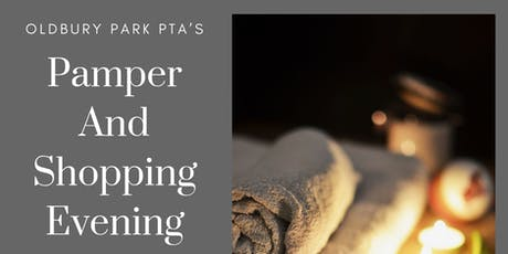 Pamper and Shopping Evening tickets