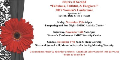Sisters of Second 2019 Women's Conference