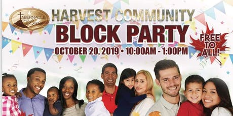Tabernacle of Praise Harvest Community Block Party tickets