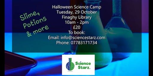 Science Starz Halloween Camp