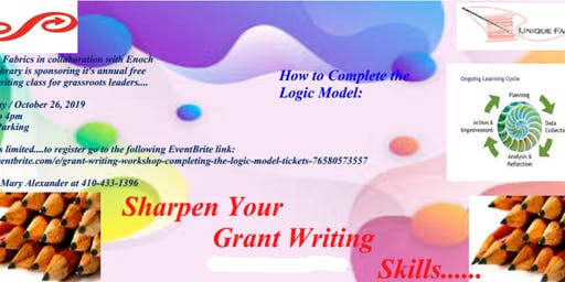 Grant Writing Workshop: Completing the Logic Model