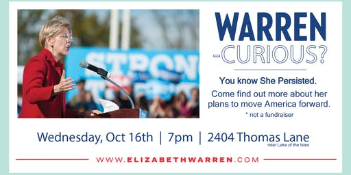 House Party for the Warren Curious