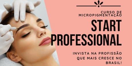 Curso de Micropigmentação Start Professional ingressos
