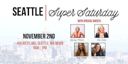 [NOVEMBER] Seattle Super Saturday