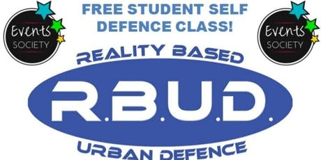 Free Student Self Defence Class. tickets