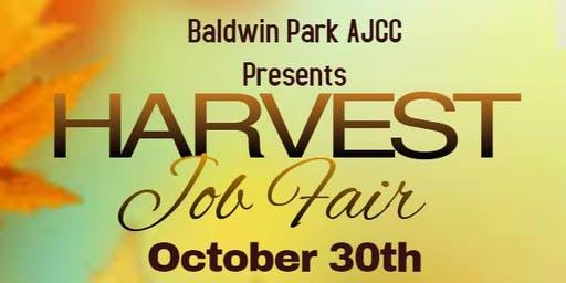 Harvest Job Fair- Baldwin Park AJCC
