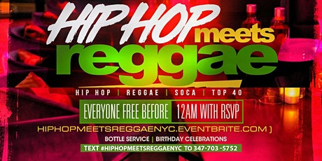 Hip Hop Meets Reggae Nyc @ Amadeus Nightclub  tickets