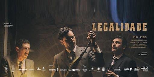 """Exibição de """"Legalidade"""" e bate-papo com Zeca Brito Sesc Canoas"""