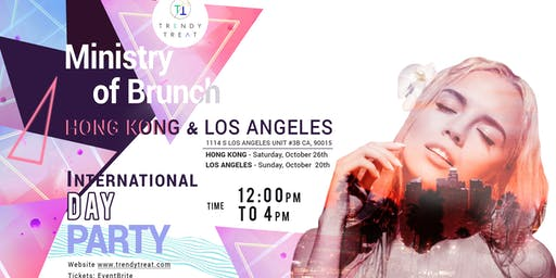 Pop Up LA Day Party, Ministry Of Brunch by Trendy Treat