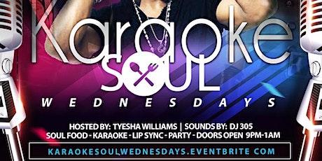 Karaoke Soul Wednesdays  tickets