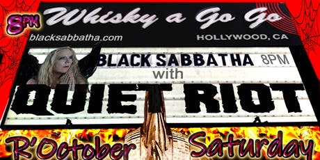 Black Sabbatha SoCal Tour 2019 tickets