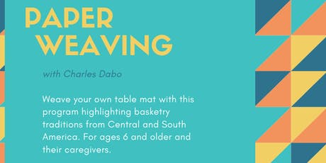 Paperweaving w/ Charles Dabo tickets