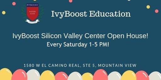 IvyBoost Education Silicon Valley Center Open House