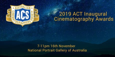 ACT Inaugural Cinematography Awards 2019 tickets