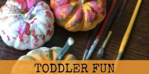 Circle time with Mommy & Me Pumpkin Painting (Babies&Toddlers)