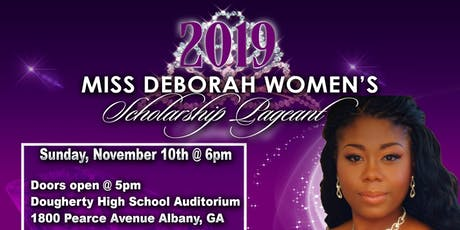 4th Annual 2019 Miss Deborah Women's Scholarship Pageant tickets