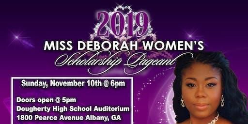 4th Annual 2019 Miss Deborah Women's Scholarship Pageant