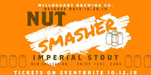 Nut Smasher Imperial Stout | New Collection - Enjoy 12oz. Cans (4 Pack)