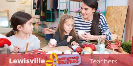 Teacher FREE Sneak Peek Pass | Winter Sale - Lewisville 11/14 tickets
