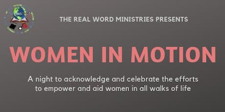 Women In Motion tickets