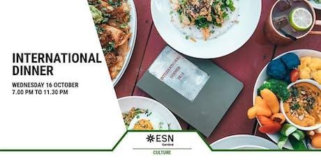 ESN Genève | International Dinner tickets