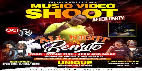 Music Video Shoot & After Party  tickets