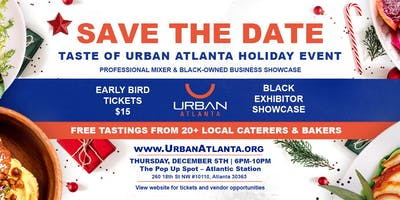 Holiday Taste of Urban Atlanta