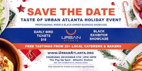 Holiday Taste of Urban Atlanta tickets