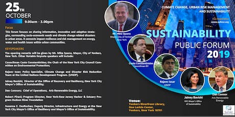 SUSTAINABILITY, CLIMATE CHANGE AND URBAN RISK MANAGEMENT CONFERENCE tickets