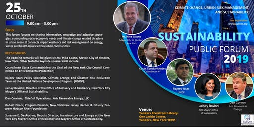 SUSTAINABILITY, CLIMATE CHANGE AND URBAN RISK MANAGEMENT CONFERENCE