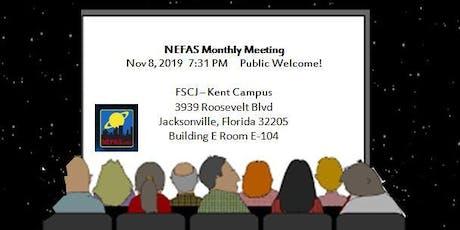 NEFAS Club Meeting Nov 2019 tickets