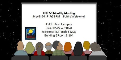 NEFAS Club Meeting Nov 2019