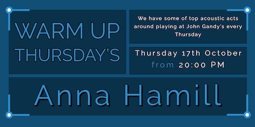 Warm Up Thursday's - Anna Hamill