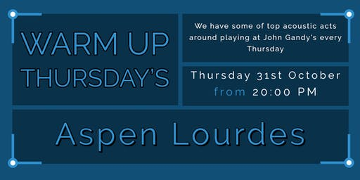 Warm Up Thursday's - Aspen Lourdes