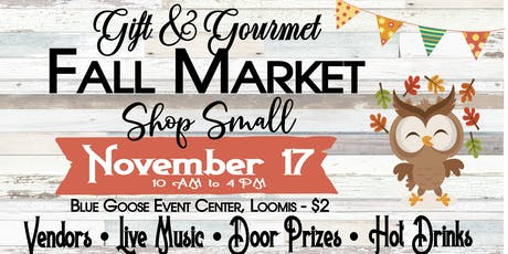 Fall Gift & Gourmet (featuring afternoon tea) tickets