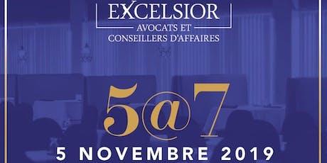 Lancement officiel Excelsior avocats billets