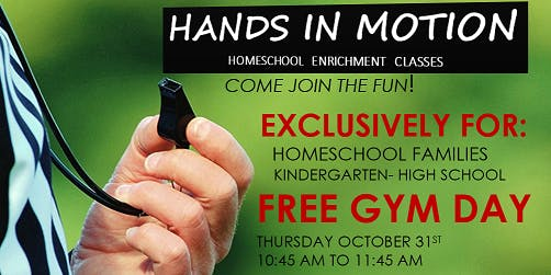 Free Sports Day for Homeschool Families