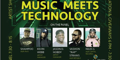 MUSIC MEETS TECHNOLOGY @ MIST TUESDAY OCTOBER 29th tickets