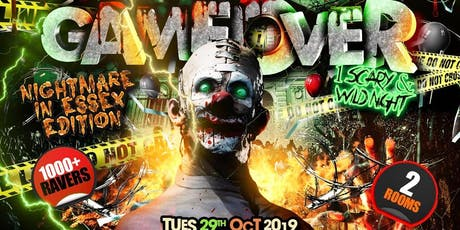 GAMEOVER ESX - The Biggest Halloween Party Ever tickets