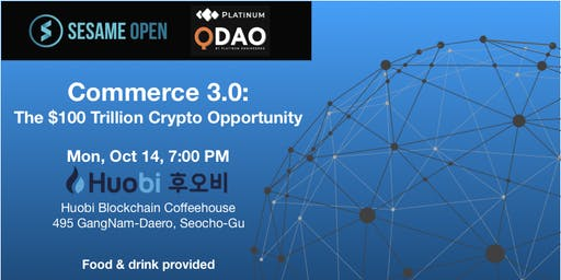 Commerce 3.0: The $100 Trillion Crypto Opportunity