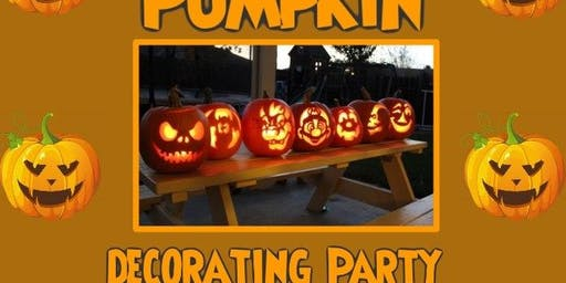 Complimentary Kids Pumpkin Decorating Party