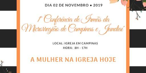 1ª Conferência de irmãs da Microrregião de Campina