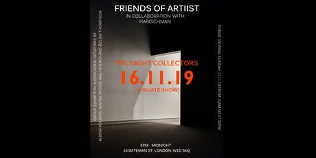 THE NIGHT COLLECTORS (PRIVATE SHOW) tickets