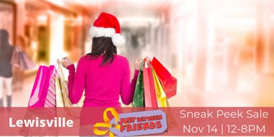 Sneak Peek Shopping Pass |  Shop First, Lewisville 11/14
