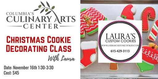 Christmas Cookie Decorating Class with Laura!